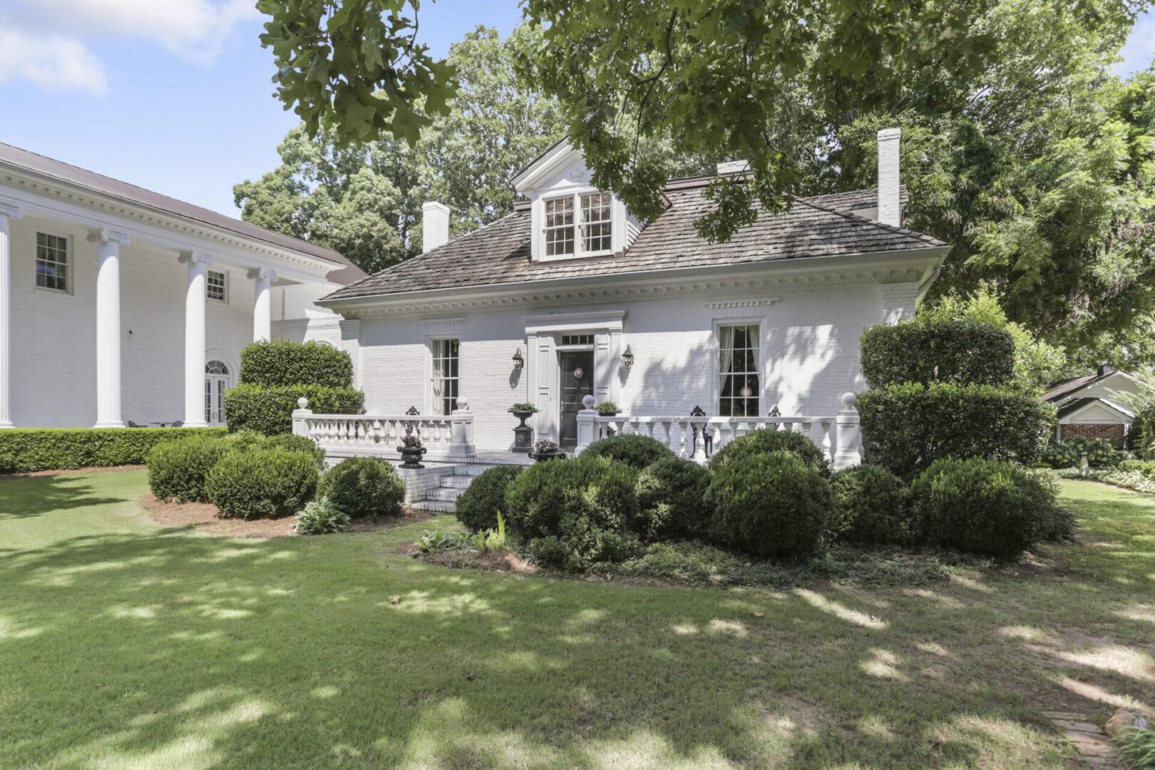 Rustic 1840's farm home at Serenata Farm in Madison, GA